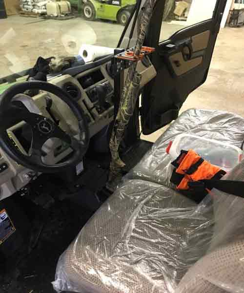 UTV Golf Cart Vertical Gun Rack 2019 JOHN DEERE XUV835R