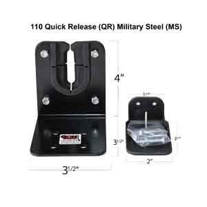 military steel gun rack