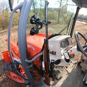 310 RAM Glass Tractor Gun Rack for Tractors or Combines