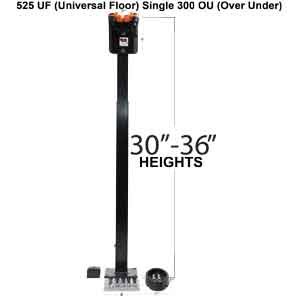 525UF 300 O/U Single Gun Rack with Rubber Butt