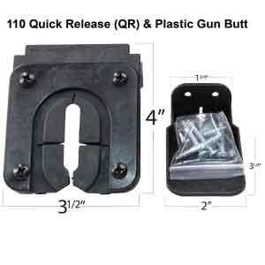 Quick Release Gun Rack 110QR