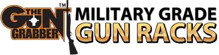 The Gun Grabber Logo Military Grade Gun Racks